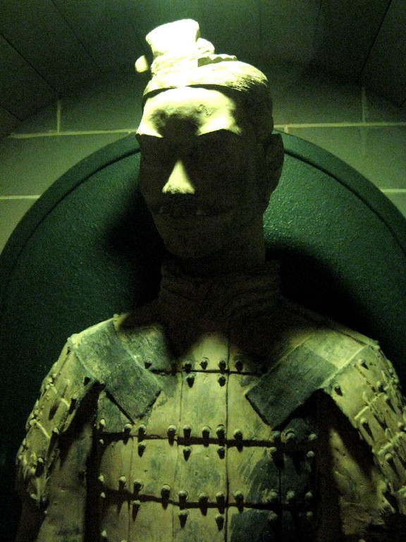 Qin - Terracotta warrior head