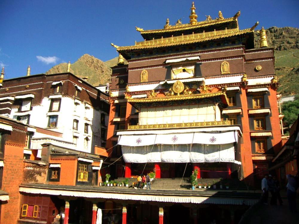monastero Tashilumpo tempio principale