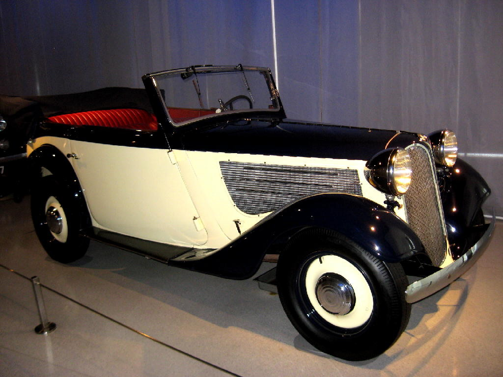 BMW 1936 Mod 319 cabriolet