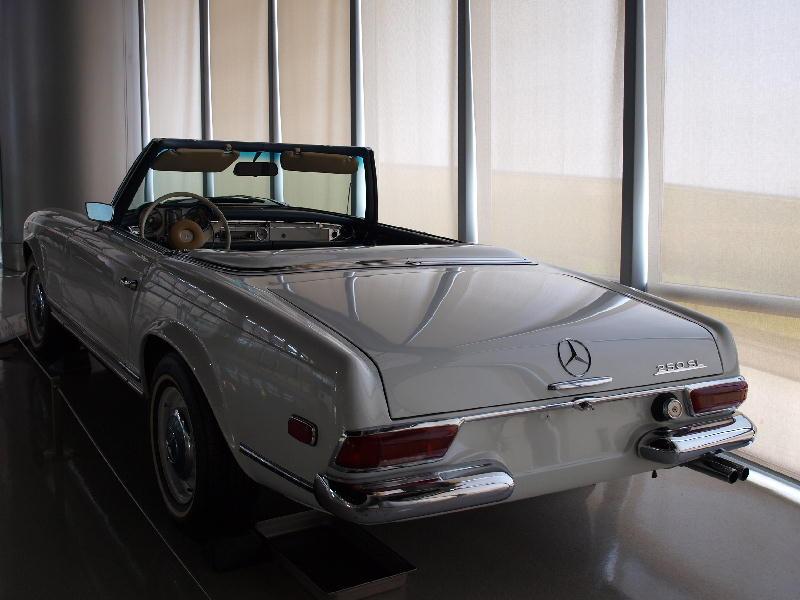 Mercedes  Benz 1953 W113 Pagoda - retro