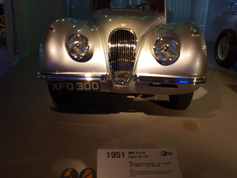 Jaguar 1951 XK120 - fronte