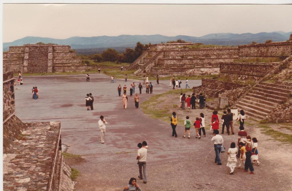 Mexico - Teotihuacan - Viale dei Morti