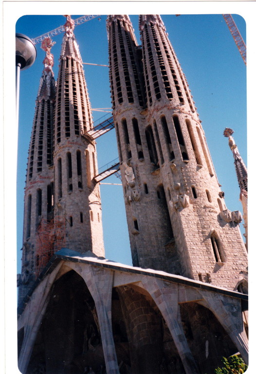 Barcellona Spagna Sagrada Familia torri