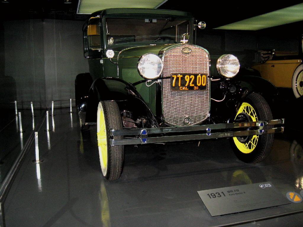 Ford 1931 Mod A