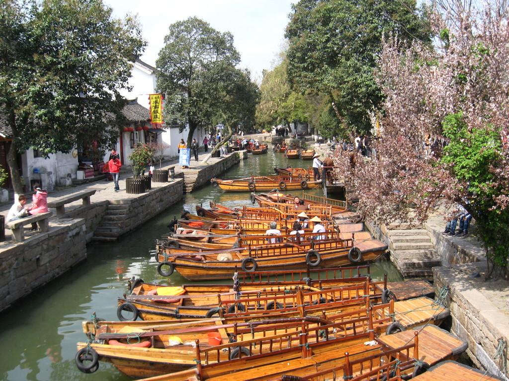 Tong li - porto di barche
