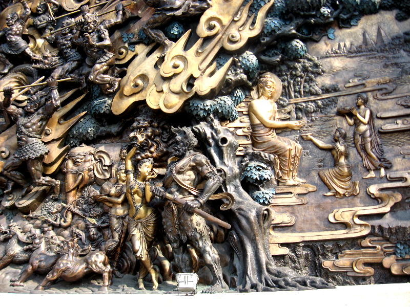 wuxi - sculture in bronzo