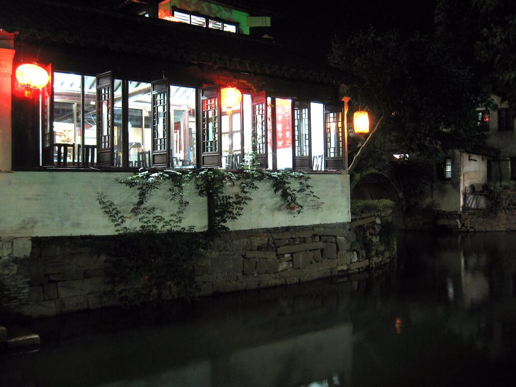 Zhouzhuang - abitazione vista canale