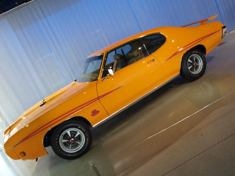 Pontiac 1970 GTO Ram Air III Judge - fianco