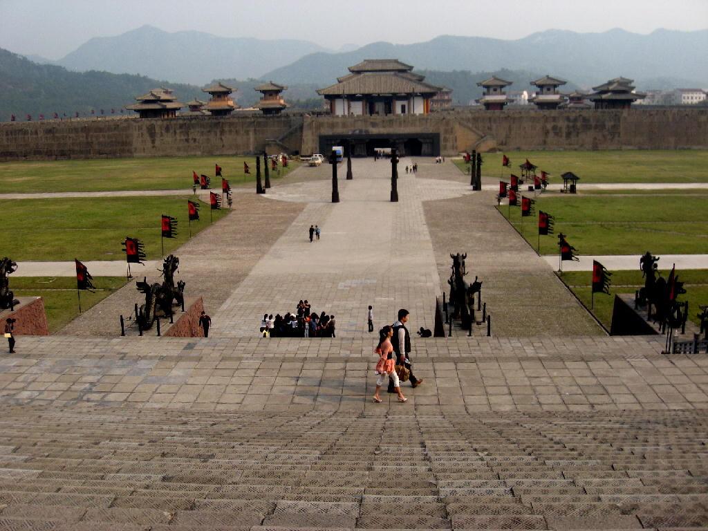 Qin - piazzale
