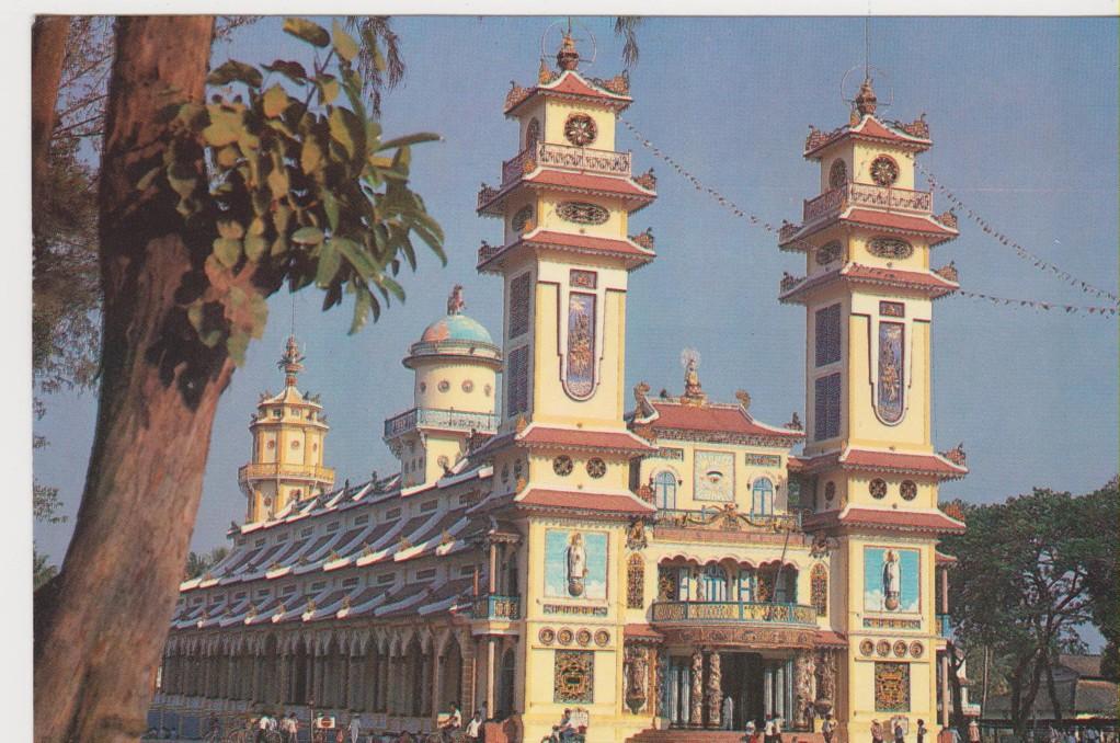 Vietnam - Tai nin - cattedrale del Caodaismo