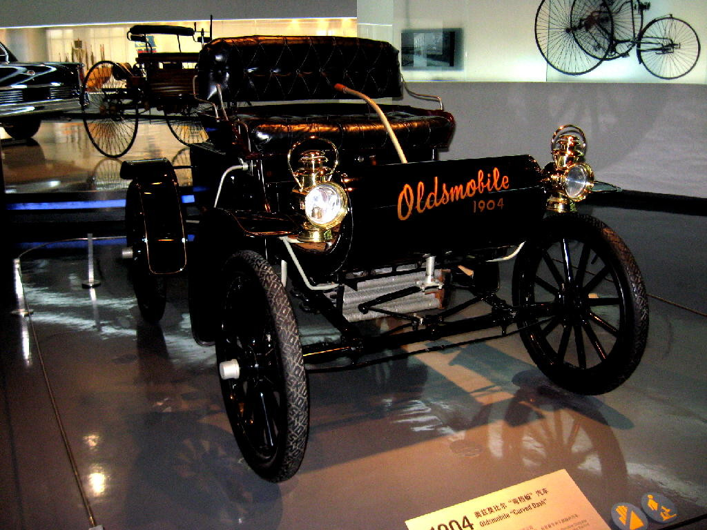 Oldsmobile 1904 Curved Dash - fronte