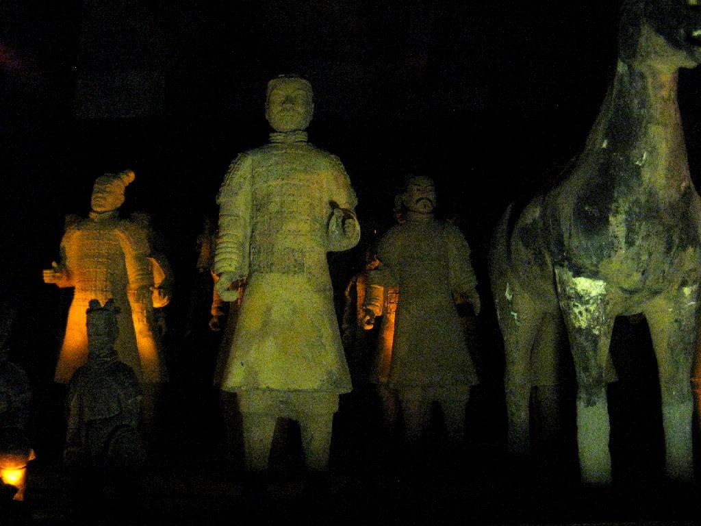 Qin - guerrieri di terracotta Xian