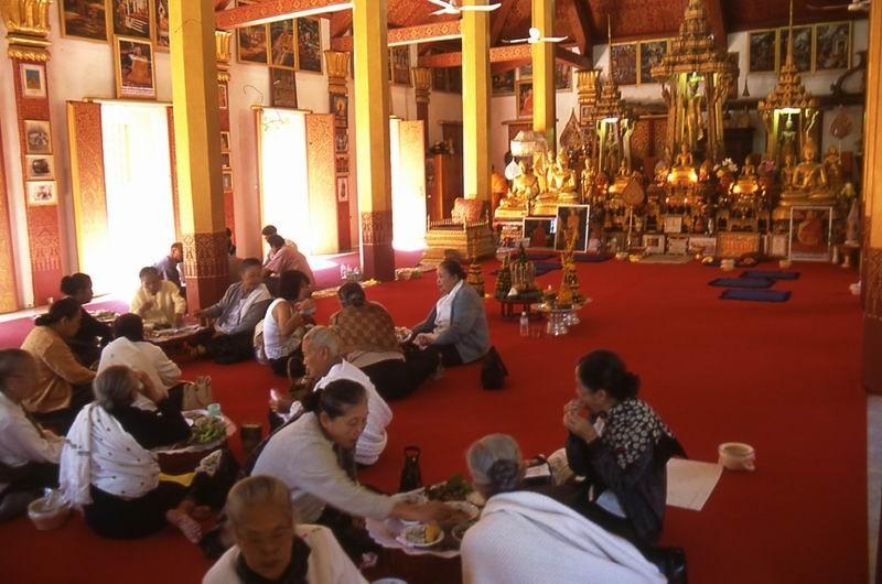 Luang Prabang Wat Saen interno