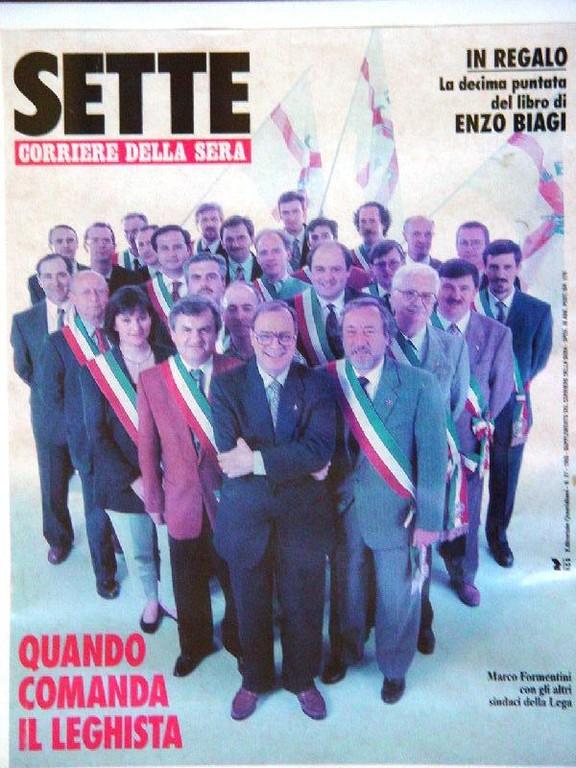 Formentini Beppe e sindaci Lega