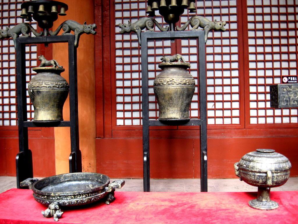 Qin - bronzi