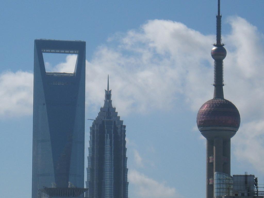 IFC , jinmao e pearl tower