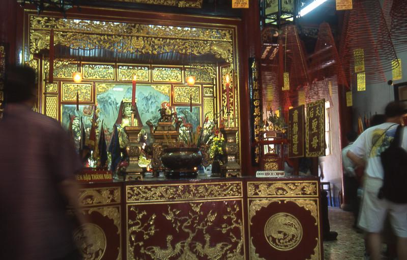 Hoi An interno tempio