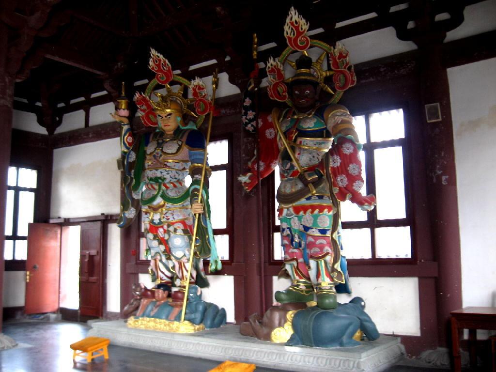nanxiang - tempio protettori