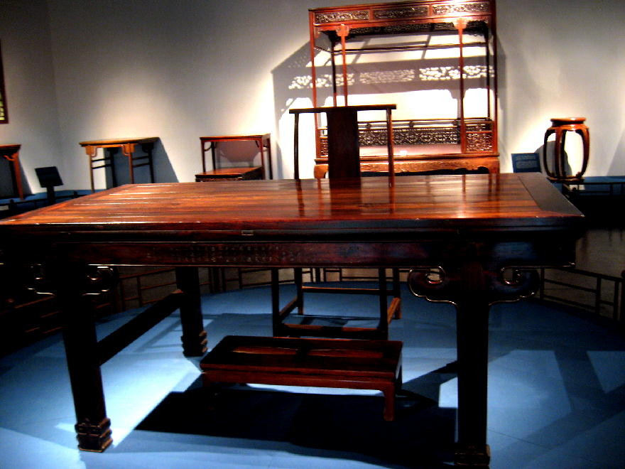 dinastia Ming - tavolo lavoro