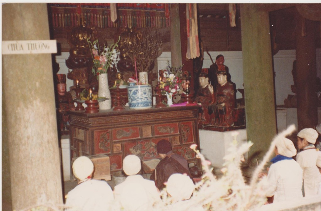 Vietnam - Tainin - cerimonia tempio Caodaismo