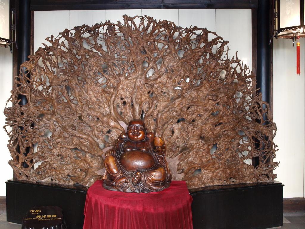 Tong li - museo sculture in legno