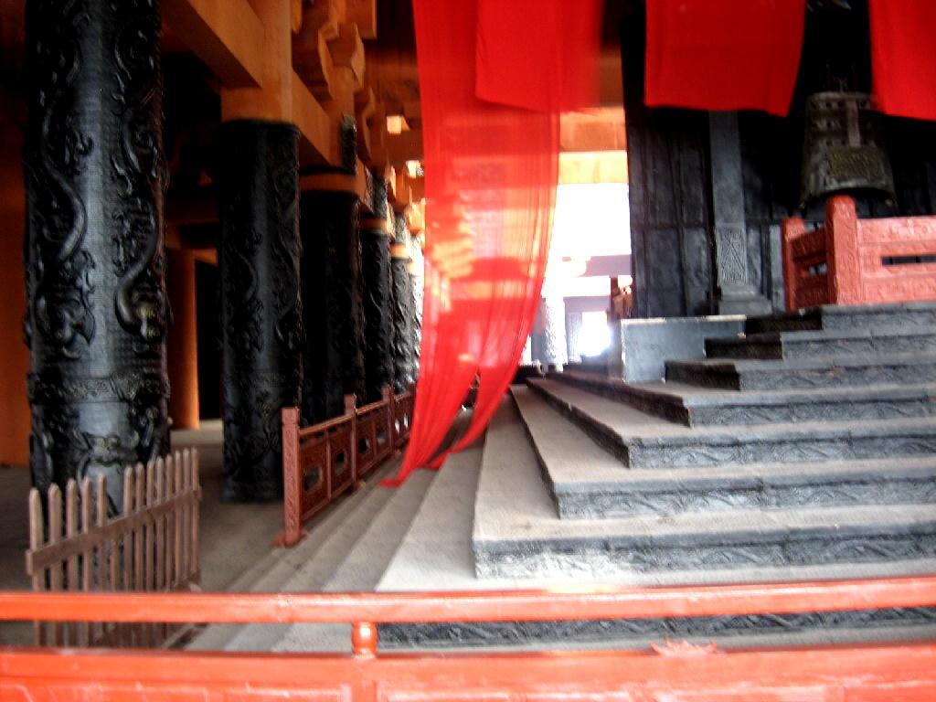 Qin - scalinata del trono