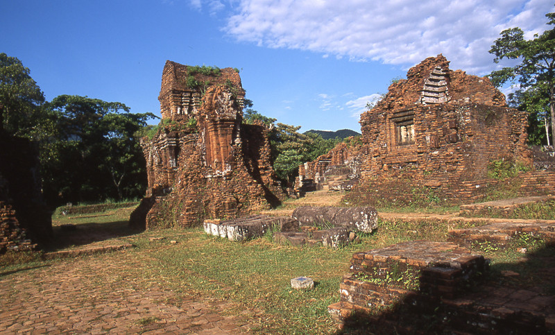 My Son rovine tempio Cham