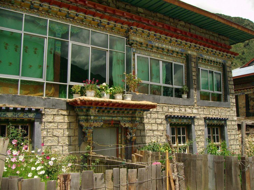 casa tibetana