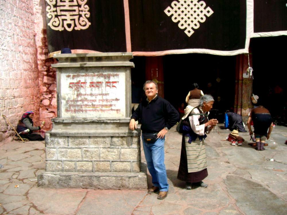 Lhasa - ingresso tempio Jokang