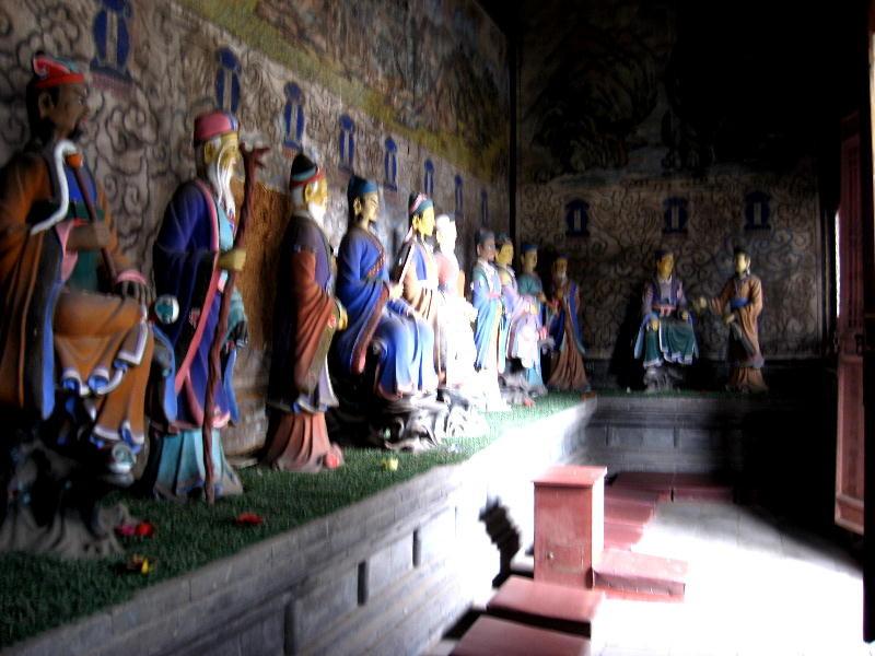 """i """" Ba Xian """", le otto divinità del taoismo"""