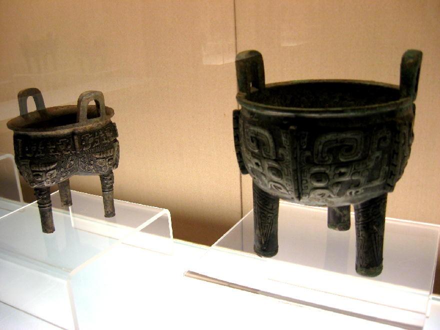 medio Shang 商朝  1500-1300AC - vaso per cibi