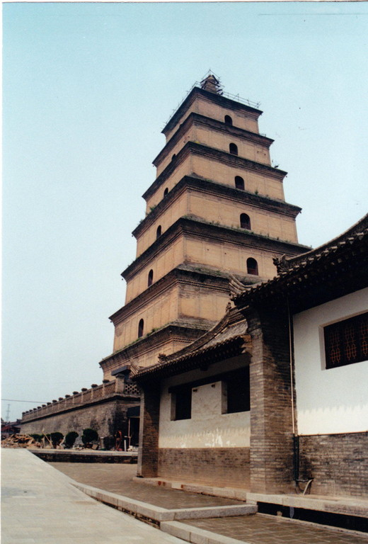 Xian - Pagoda della Grande Oca