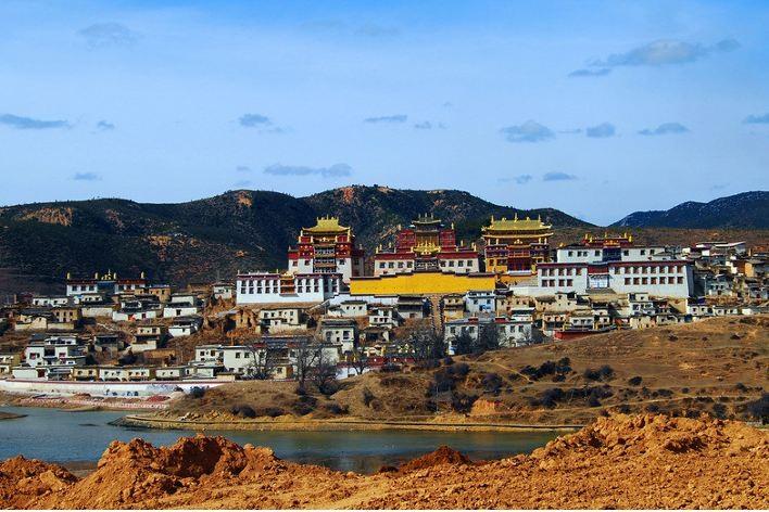 shangri la monastero tibetano