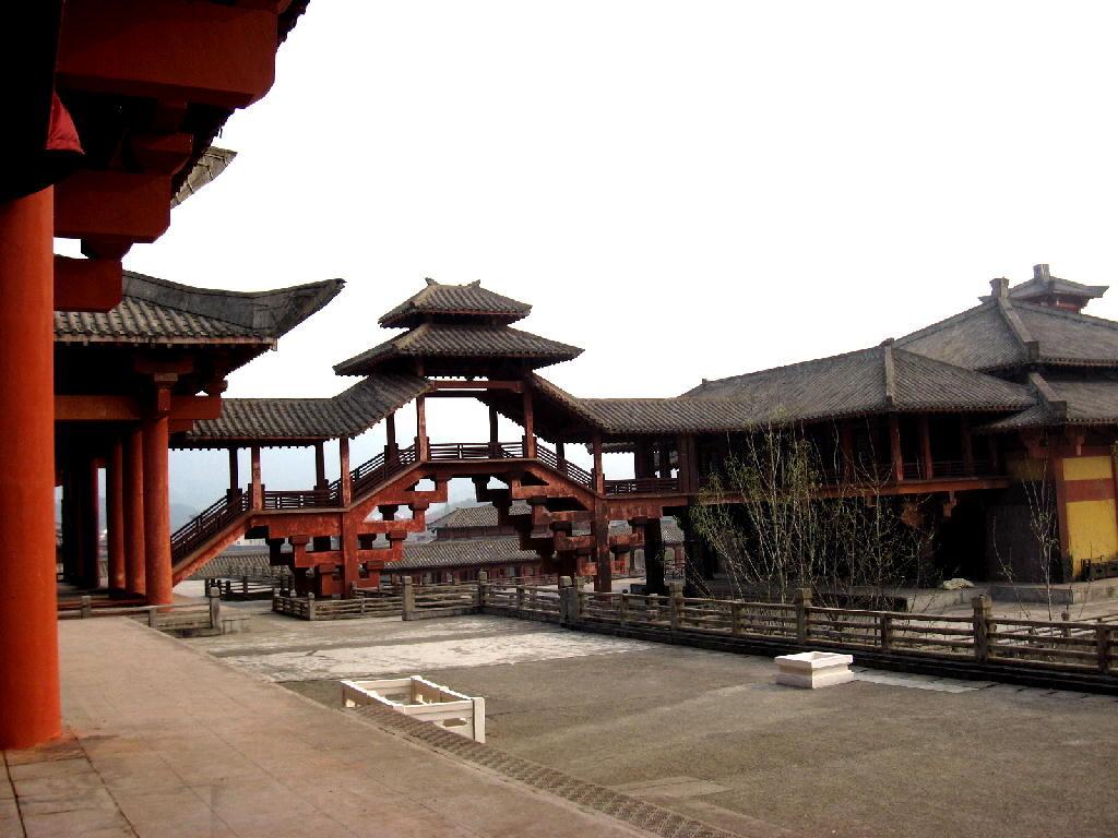 Qin - retro sala del trono