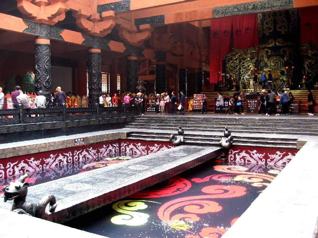 Qin - sala del trono