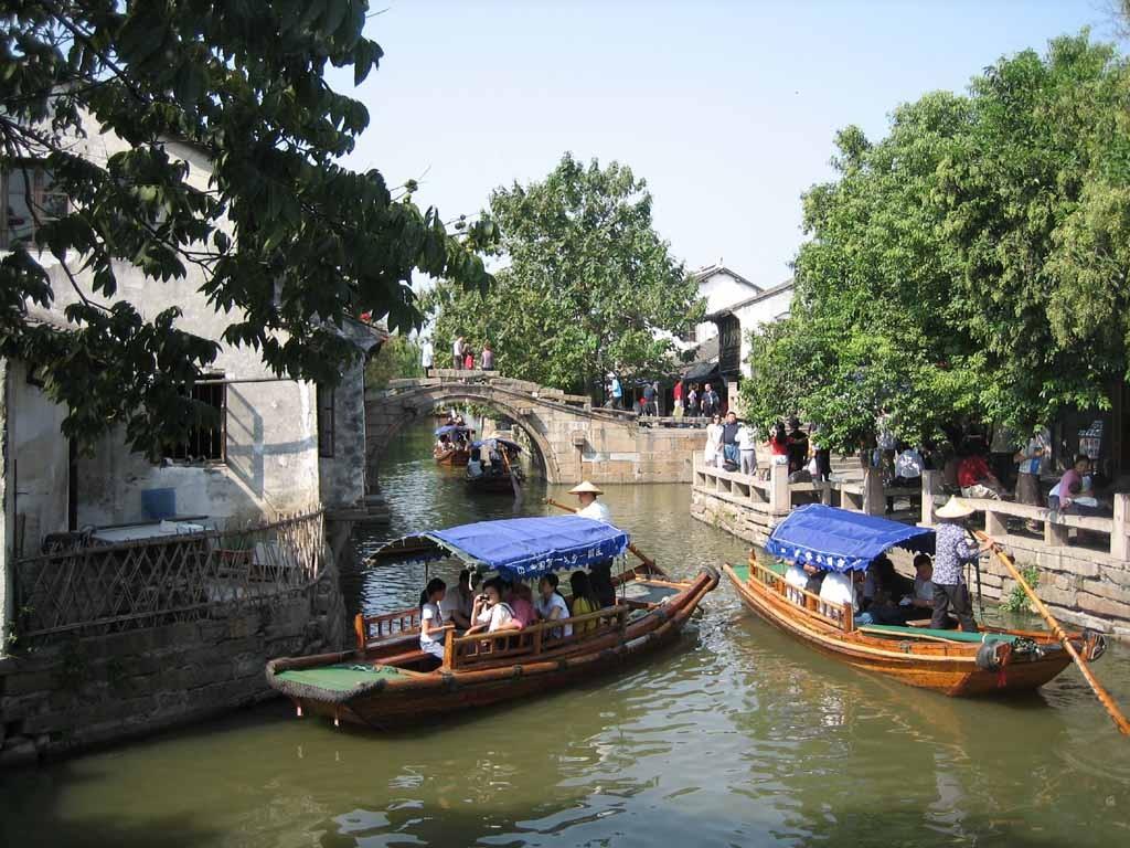 Zhouzhuang - turismo sull'acqua