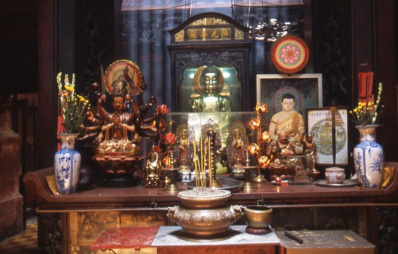 Ho chi minh city tempio buddhista