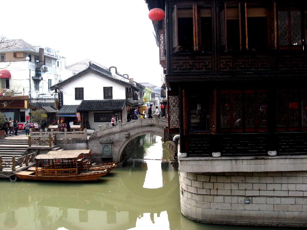 nanxiang - ponte e casa