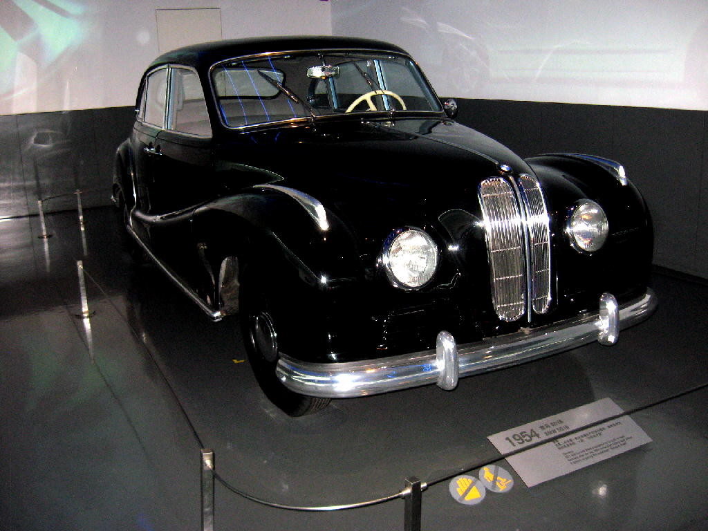 BMW 1954 tipo 502
