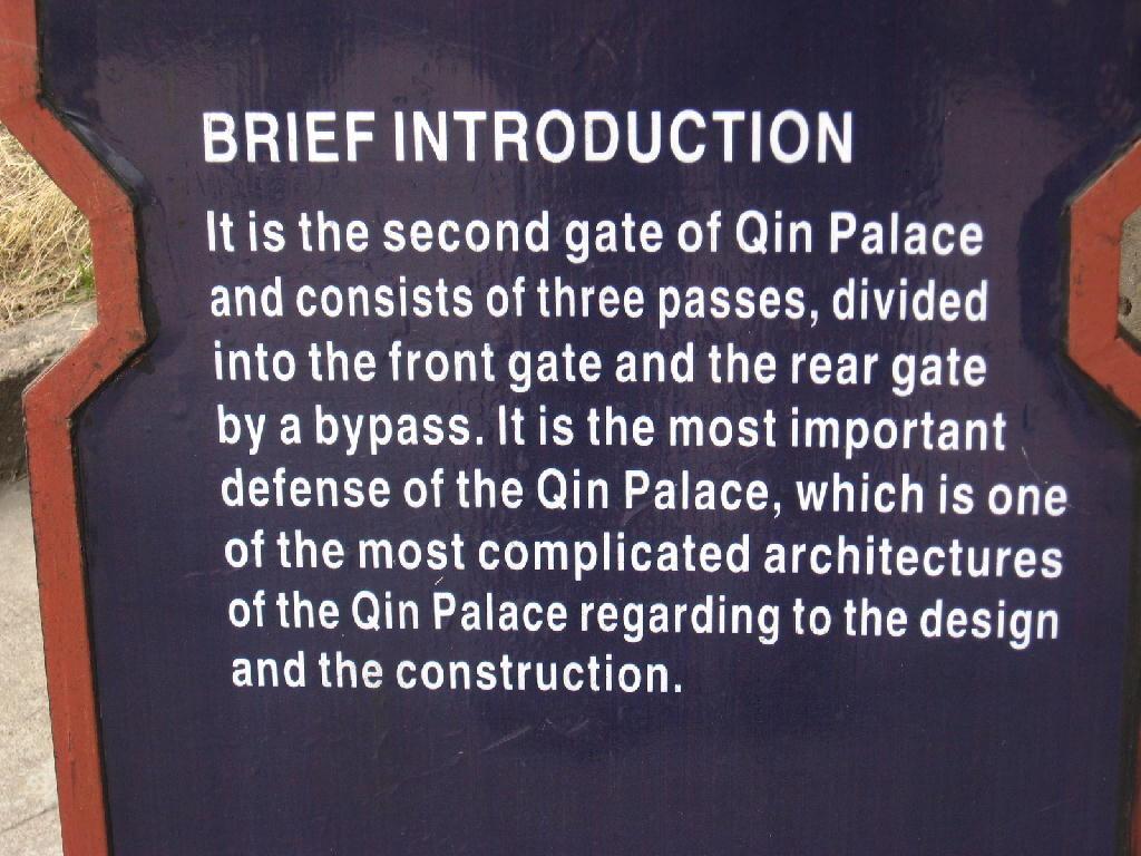 Qin - descrizione