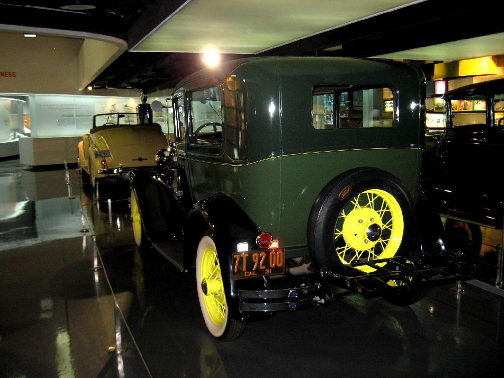 Ford 1928 Mod A - retro