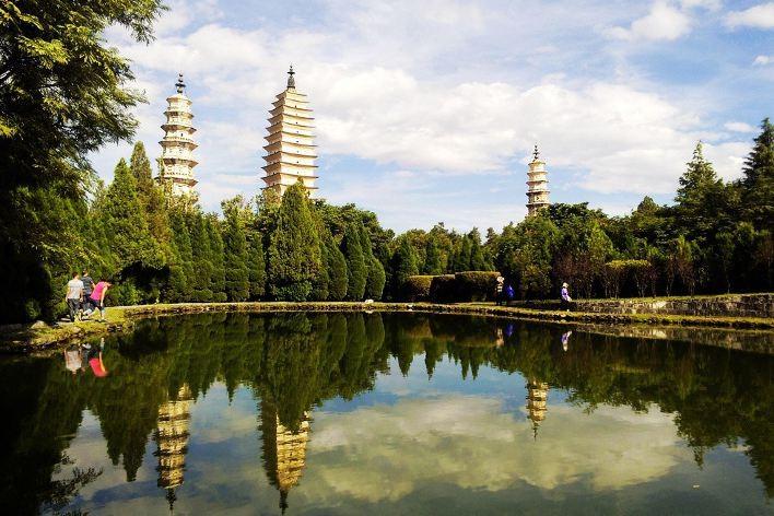 dali le tre pagode