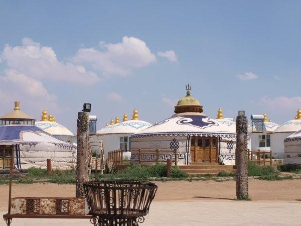 mongolia - tenda capo