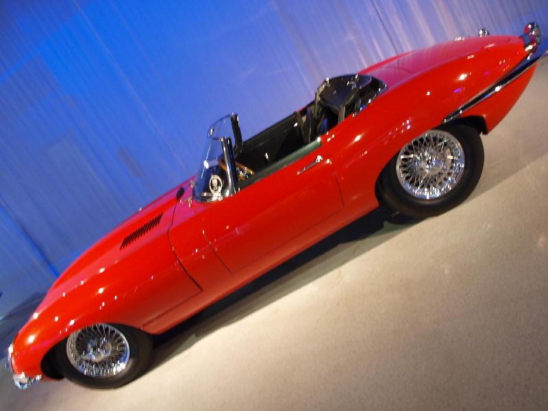 Jaguar 1961 E-Type - fianco