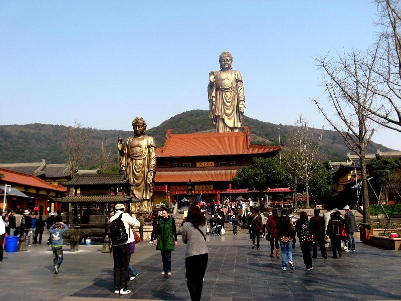 wuxi - i due Buddha