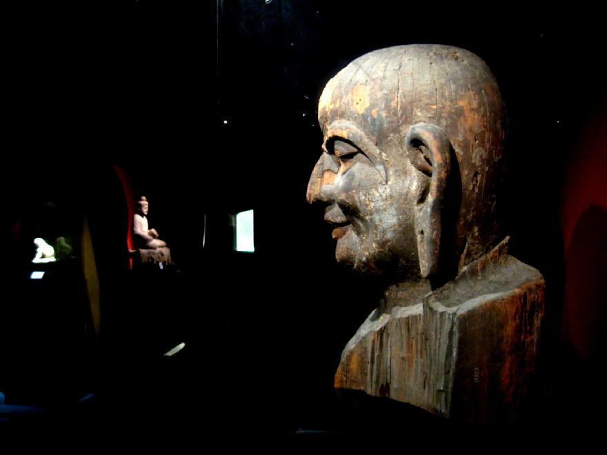 dinastia Song  宋朝 ( 960-1279 DC ) - testa di Ananda