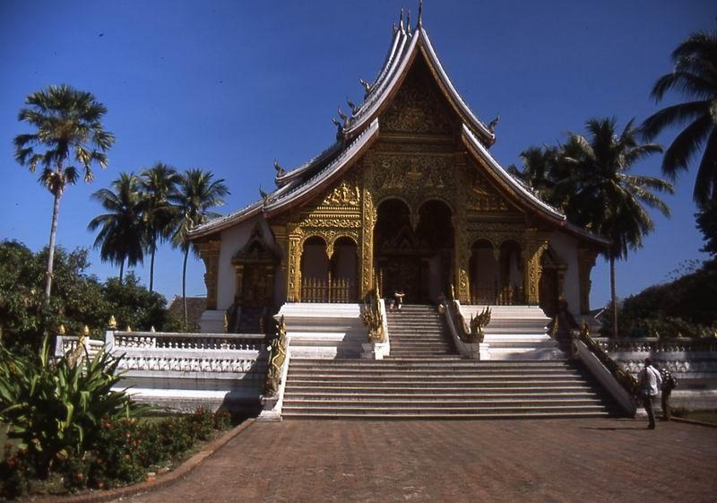 Luang Prabang ingresso palazzo reale