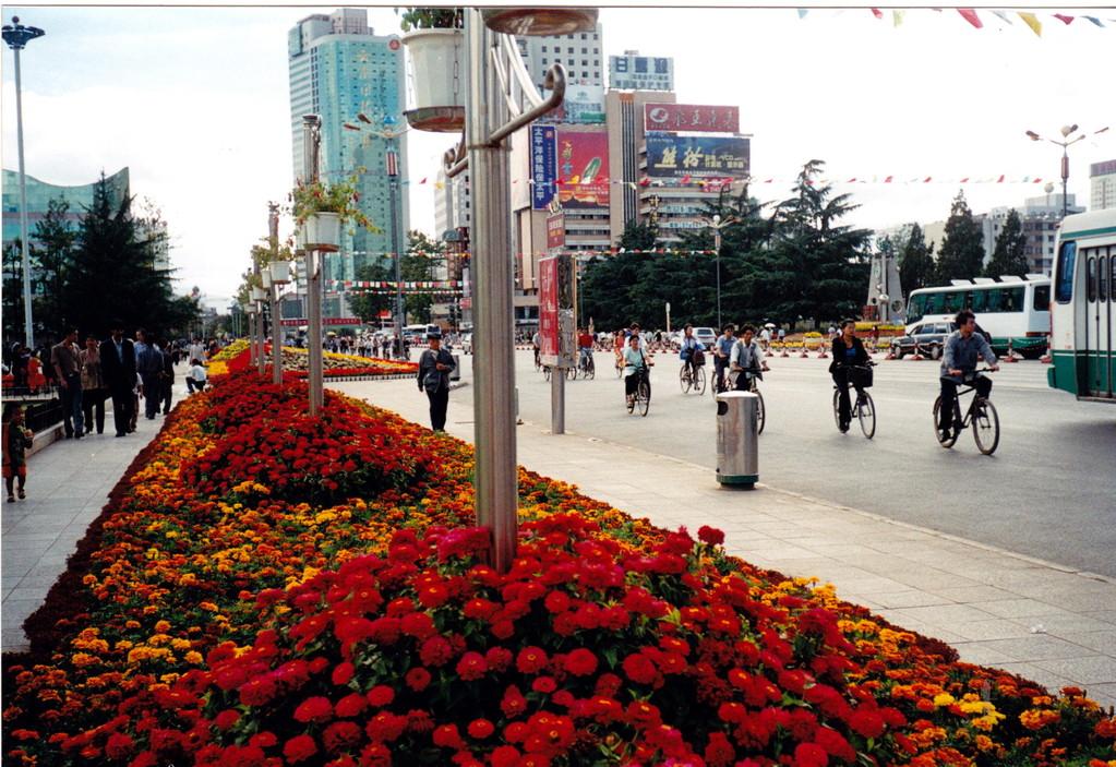 Kunming piazza