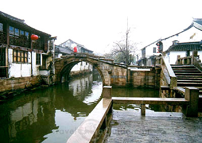 Zhouzhuang - canale trasversale