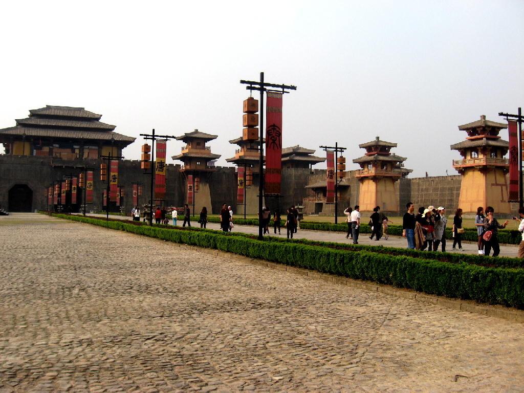 Qin - ingresso palazzo